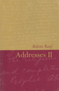 Addresses II by Bulent Rauf Beshara Publications