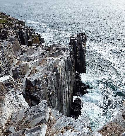 Cliffs on Inner Farne
