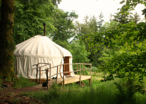 Yurt retreat